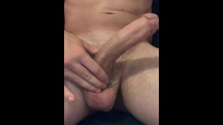 8 INCH DICK - SOFT TO HARD WITHIN SECONDS (Solo Muscular Guy)