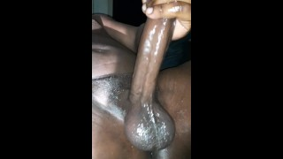 MAN MOANING ORGASM HORNY BIG DICK MALE JERKING OUT SUPER THICK CREAMY CUM LOAD