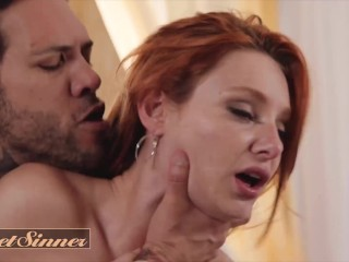 SweetSinner – Lacy Lennon's New Step Bro Knows How To Make Her Cum