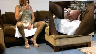 Webcam Play With Lush and Ebony Dildo