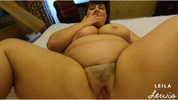 Late Night BBW Booty Call Gets FIRST EVER Cream Pie