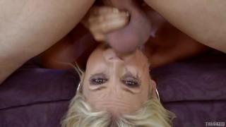 Sarah Vandella Throated Compilation - Rough Blowjobs, Facials & Mouth Fucking