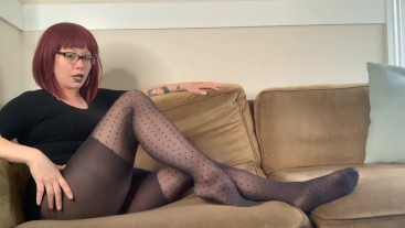 Magical Psych turns you INTO Stockings Transformation Fantasy Fetish Redhead