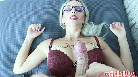 Glasses big tits red pornhub Girls With Glasses Porn Videos Free On Pornhub
