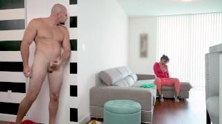 Screen Capture of Video Titled: BANGBROS - Latin Maid Rose Monroe Getting Her Venezuelan Big Ass Banged By Jmac