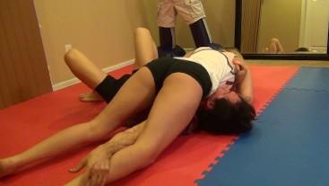 mixed college wrestling challenge