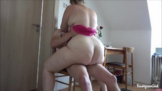 The Horny Girlfriend Wanted to Fuck in the Kitchen!