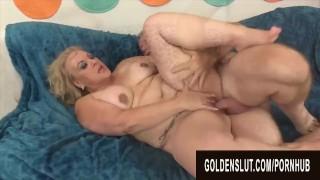 Golden Slut - Stunning Mature Blondes Getting Drilled Compilation Part 7