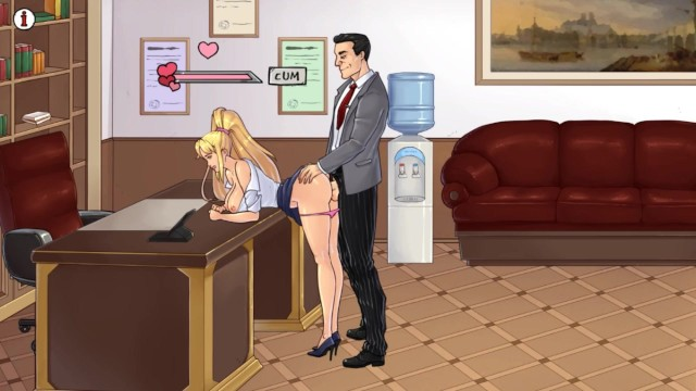 TheLewdKnight (part 3). first Day at Work, Sex with the Boss ...