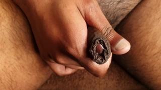 Up Close With My Uncut Cock & Cum