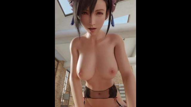 Tifa Lockhart cowgirl Final Fantasy 7 Remake