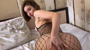 POV Creampie in Doggystyle after the hot Blowjob