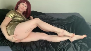 Your Girlfriends Calves Redhead GFE