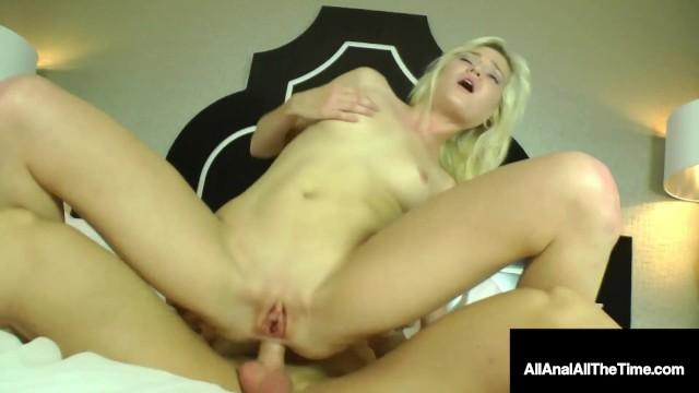 Itty Bitty Butthole Banging! Chloe Foster Butt Fucked Good!