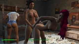 Strapon games. Girls love sex toys | Fallout 4, Porno Game 3d
