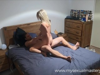 PERFECT ASS ESCORT SECRETLY RECORDED SERVICING CLIENT IN BEDROOM