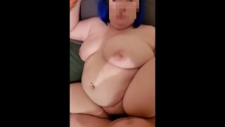 Huge Tit BBW Fucked In Hairy Pussy