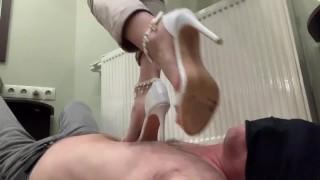 Trampling #60 high heels pov