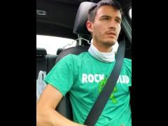 Eddie De Luca Jerking and Driving
