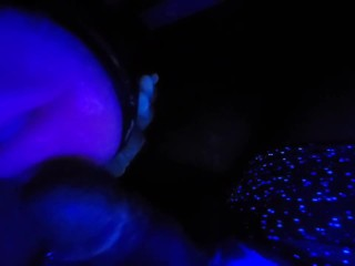 \ SUCK DADDY\'S COCK WITH YOUR SLUT MOUTH\  Nasty Talk with Sexy Moaning Cumshots - Black Light