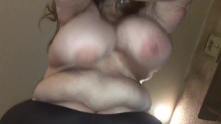 Mrs swings her boobs 001