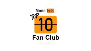 Top Fan Clubs of July 2020 - Pornhub Model Program