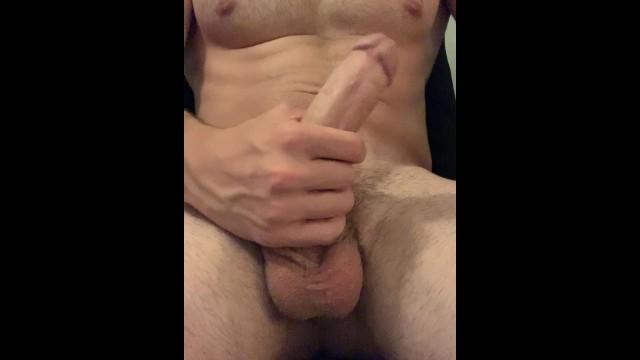 Solo Black Male Masturbation
