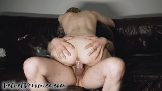 I get a creampie on the couch after a quick fuck ;)
