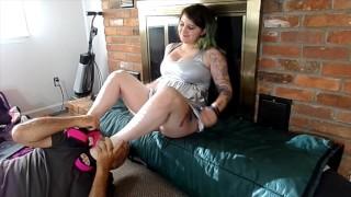 Slave Training Worship Mistress Feet &fuck her W her Heels till she Cums. Slave Heel Worship TEASER