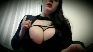Huge Tits In Breast Bondage