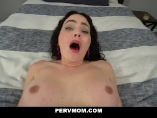 Pervmom – XXX Stepson and Mom Pov Blowjob