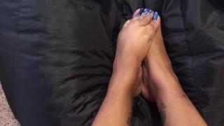 Ebony Foot Domination