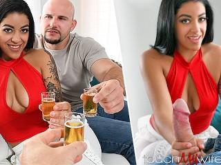 Sharing My Hot Latina Wife With Bar Hookup