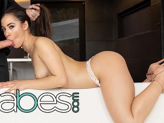 BABES - Smoking Hot Spanish Babe Anastasia Brokelyn Enjoy Lutro's Hard Cock For Her Birthday