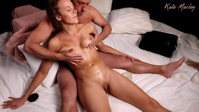 Showing Appreciation with an Intimate Chest & Pussy Massage - Kate Marley
