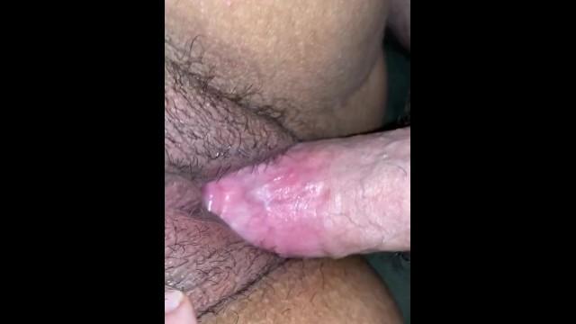 Latina close up pussy