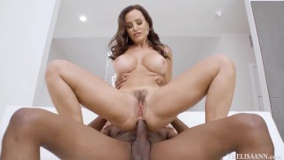 Lisa Ann Anal with Me riding Isiah's Huge Dick