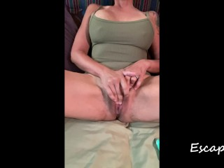 MILF Masturbates to Orgasm on Boat