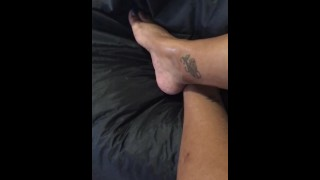Hot oil on Long legs