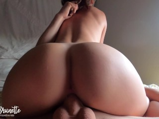 Perfect Girl Rides Her Lucky Boyfriends Face And Big DIck Until He Cums Deep In Her Tight Wet Pussy
