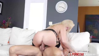 PORNSTARPLATINUM Bigtits Blonde Katy Jayne Hammered By Stud
