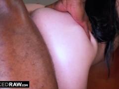 BLACKEDRAW Dark-haired hottie takes on two huge BBCs BLACKEDRAW Dark-haired hottie takes on two huge BBCs