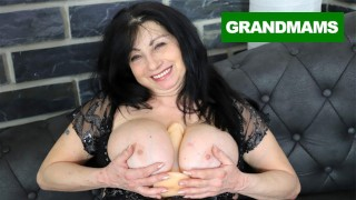 BBW Granny Cums after Years!