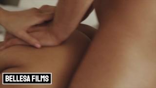 Bellesa - Horny Brunette Eliza Ibarra Swallows That Big Cock Before Getting Drilled Hard