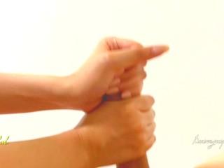 大量射精!淫乱妻の手コキテク