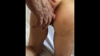 a stranger fucks my wife and sends me the video - anal creampie