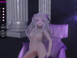 Squirting orgasm in vr