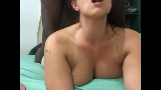 sexy snowbunny wants to get spread open by bbc