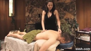 Sensuous Massage Becomes Intense Foreplay