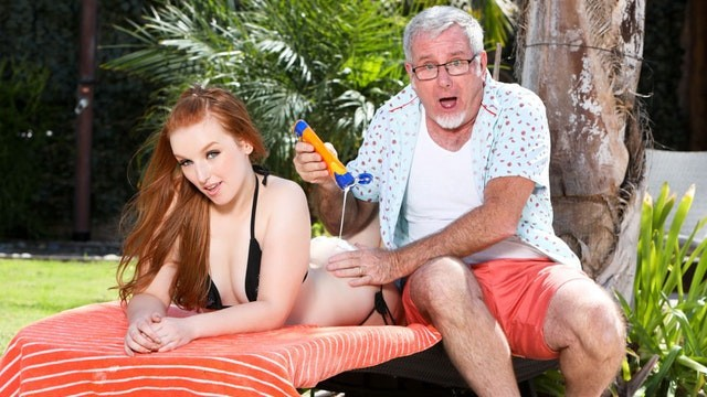 DevilsFilm Young Redhead wants her Step-Grandpa's Huge Dick inside ...